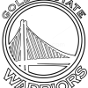 How to Draw Golden State Warriors, Basketball Logos