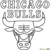 to draw chicago bulls basketball logos by webmaster basketball logosBasketball Drawings Step By Step