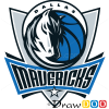 How to Draw Dallas Mavericks, Basketball Logos