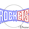 How to Draw Houston Rockets, Basketball Logos