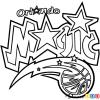 How to Draw Orlando Magic, Basketball Logos