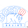 How to Draw Boston Bruins, Hockey Logos