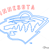 How to Draw Minnesota Wild, Hockey Logos
