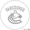 How to Draw Vancouver Canucks, Hockey Logos