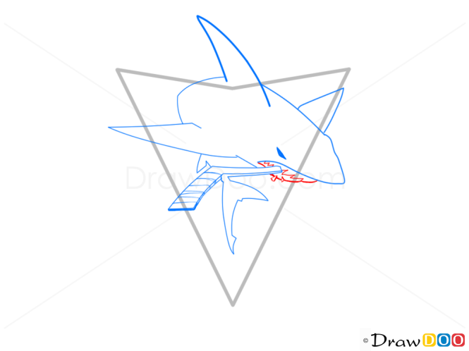 how to draw hockey logos step by step