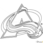 How to Draw Colorado Avalanche, Hockey Logos
