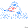 How to Draw NY Islanders, Hockey Logos