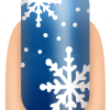 How to Draw Snowflake, Nail Art