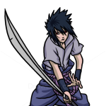How to Draw Sasuke Uchiha, Naruto