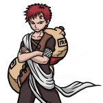 How to Draw Gaara, Naruto