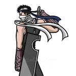 How to Draw Zabuza Momochi, Naruto