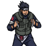 How to Draw Asuma Sarutobi, Naruto