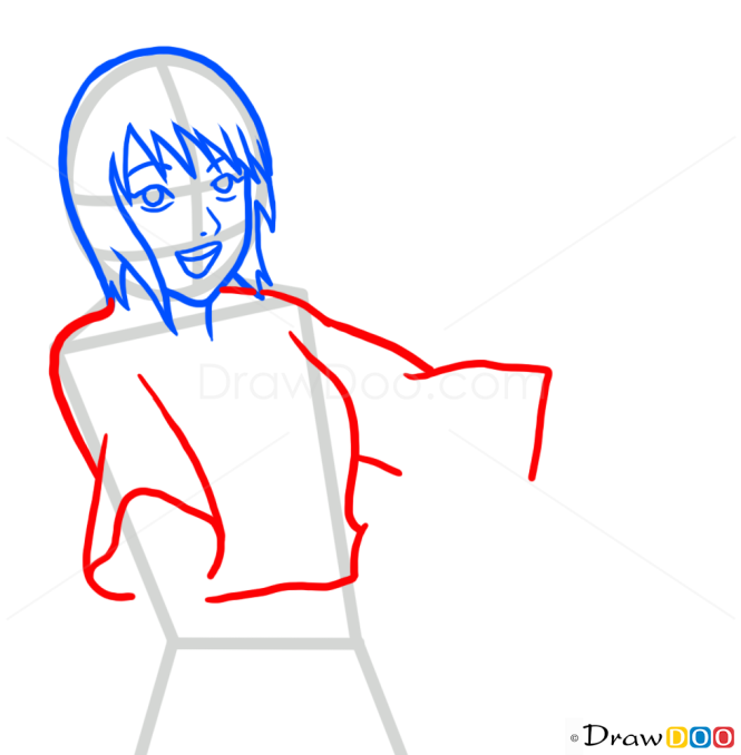 How to Draw Shizune, Naruto