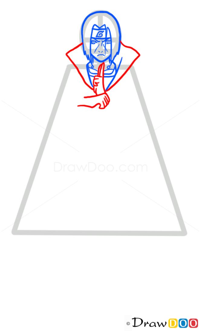 How to Draw Itachi, Naruto