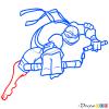 How to Draw Michelangelo, Ninja Turtles