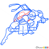 How to Draw Michelangelo, Ninja Turtles
