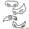 How to Draw Masks, Ninja Turtles