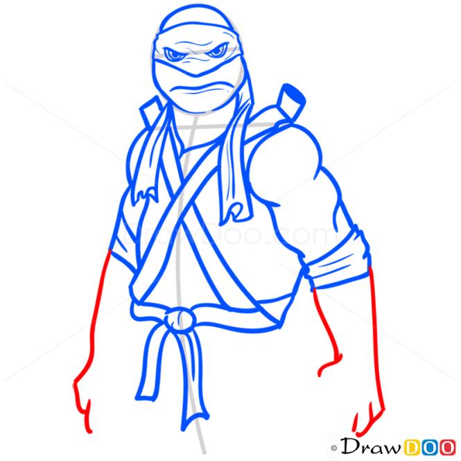 How to Draw Donatello, Ninja Turtles