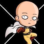 How to Draw Saitama Chibi, One Punch Man