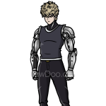 How to Draw Genos, One Punch Man