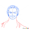 How to Draw Roronoa Zoro Face, One Piece