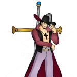 How to Draw Dracule Mihawk, One Piece