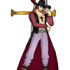 How to Draw Dracule Mihawk, One Piece