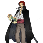 How to Draw Shanks, One Piece