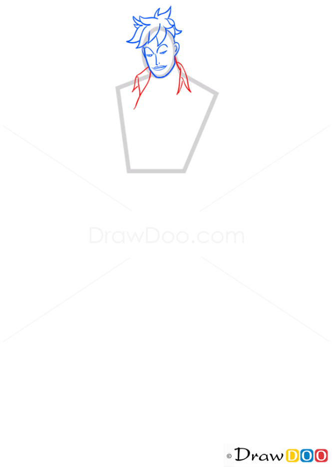 How to Draw Marco, One Piece