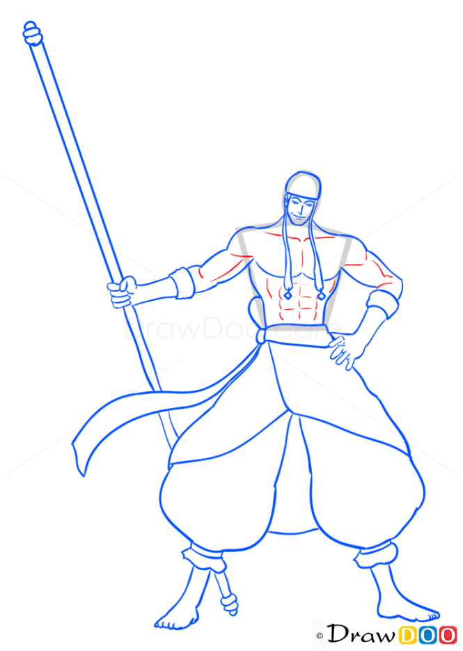 How to Draw Enel, One Piece
