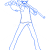 How to Draw Trafalgan Law, One Piece