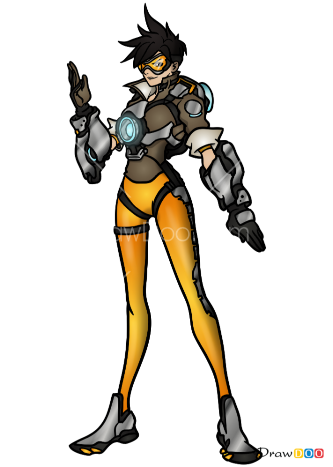 How to Draw Tracer, Overwatch