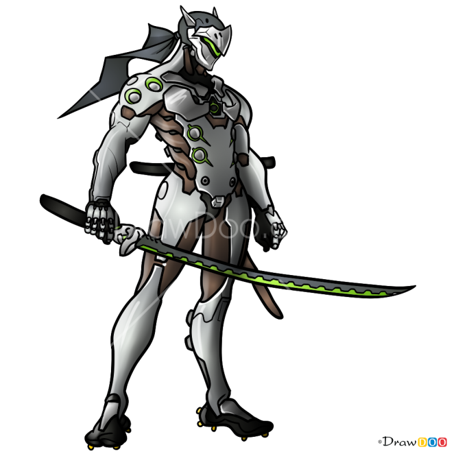 How to Draw Genji, Overwatch