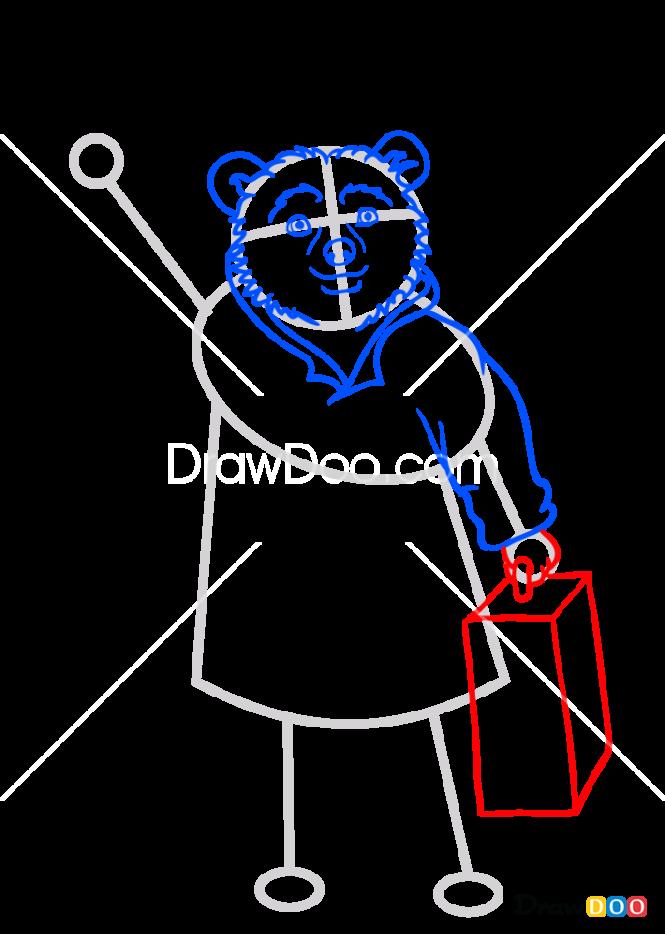 How to Draw Paddington from Movie, Paddington