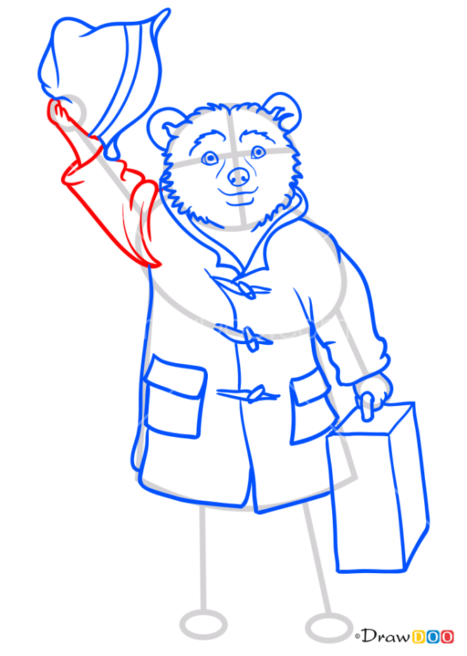 How to Draw Paddington from Movie, Paddington
