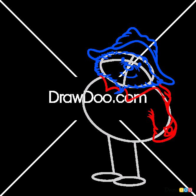 How to Draw Paddington, Paddington