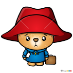 How to Draw Kawai Paddington, Paddington