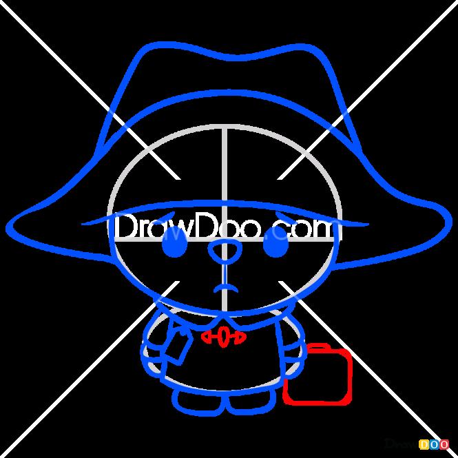 How to Draw Kawai Paddington, Paddington