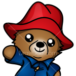 How to Draw Chibi Paddington, Paddington