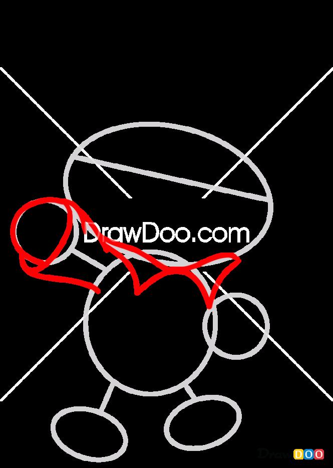 How to Draw Chibi Paddington, Paddington