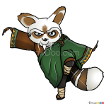 How to Draw Master Shifu, Kung Fu Panda