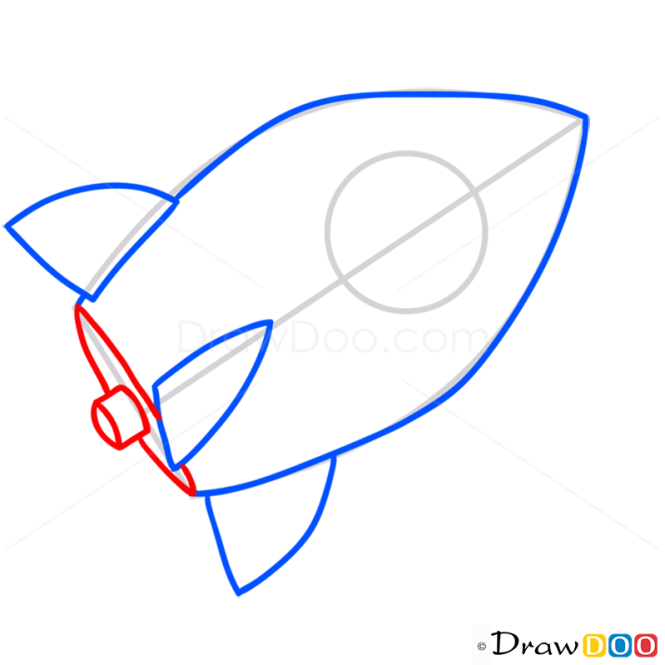 How to Draw In the Rocket, Peppa Pig