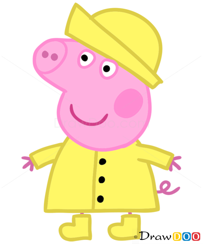 How to Draw Peppa 1, Peppa Pig