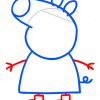 How to Draw Peppa 2, Peppa Pig