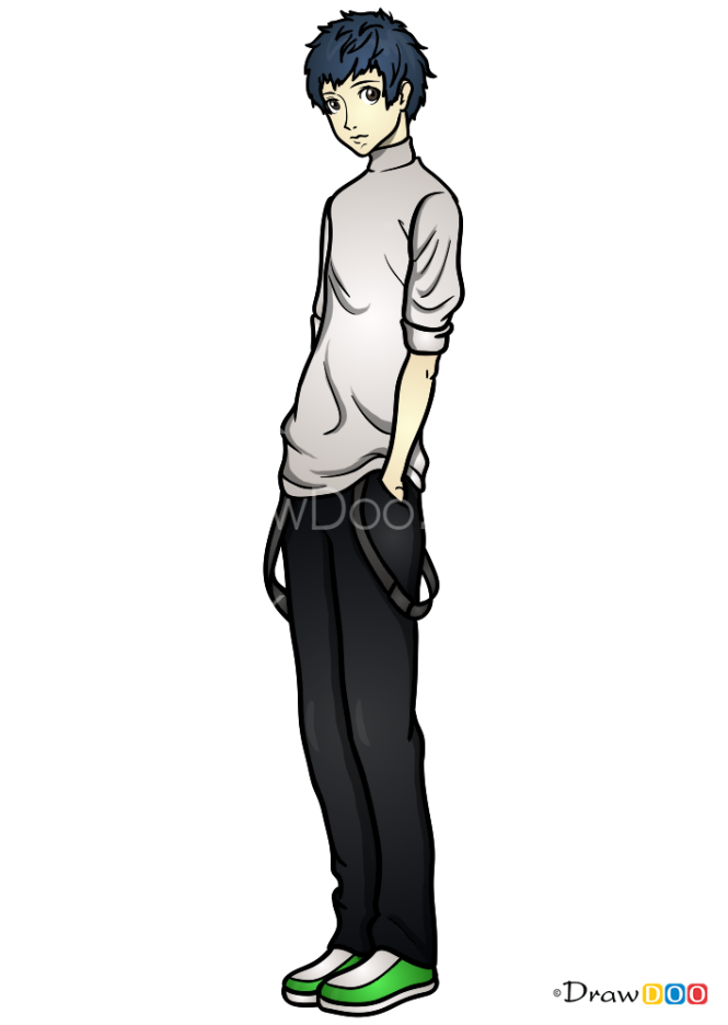 How to Draw Yuki, Persona 5