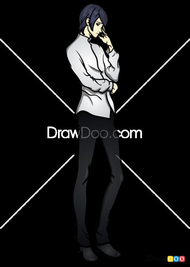 How to Draw Yusuke, Persona 5
