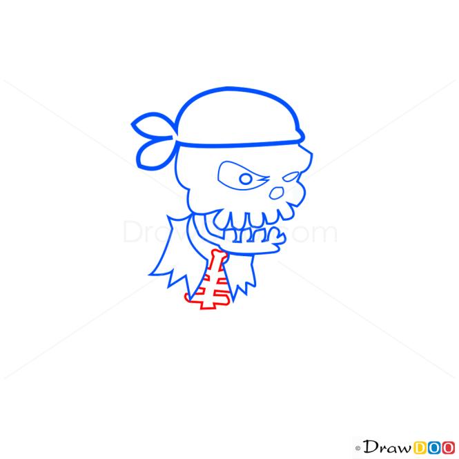 How to Draw Pirate Skeleton, Pirates