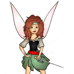 How to Draw Fairy Pirate, Pirates