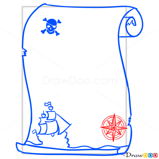 How to Draw Pirate Map, Pirates