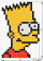 How to Draw Bart Simpson, Pixel Cartoons